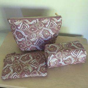 Handbags - NEW Set of 3 Make Up Travel Bags